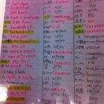 テスト前、模試前、受験前に役に立つ「語彙ノート」を作ろう!
